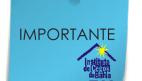 Foto: Uma imagem ilustrativa que remete a um post its azul - ao fundo está escrito IMPORTANTE e abaixo do lado direito está a logo do ICB;