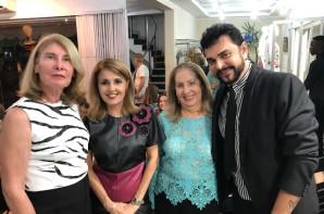 Heliana Diniz, D. Maria do Rosário Magalhães, Nietinha Velloso e Júlio Cezar Habib.