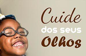 Abril Marrom é o mês de prevenção às doenças oculares